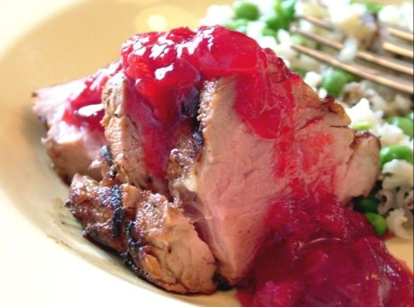 Rhubarb+pork