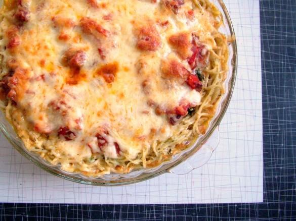Spaghetti+Pie+-+baked