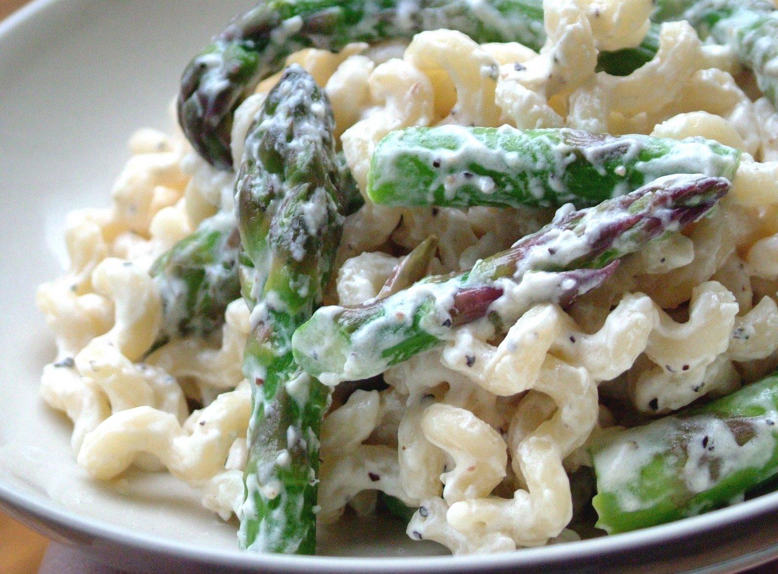 Asparagus+Boursin+Pasta