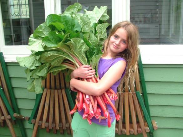 Emily+&+rhubarb