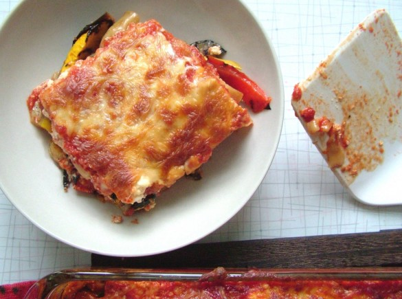Vegetable+Lasagna