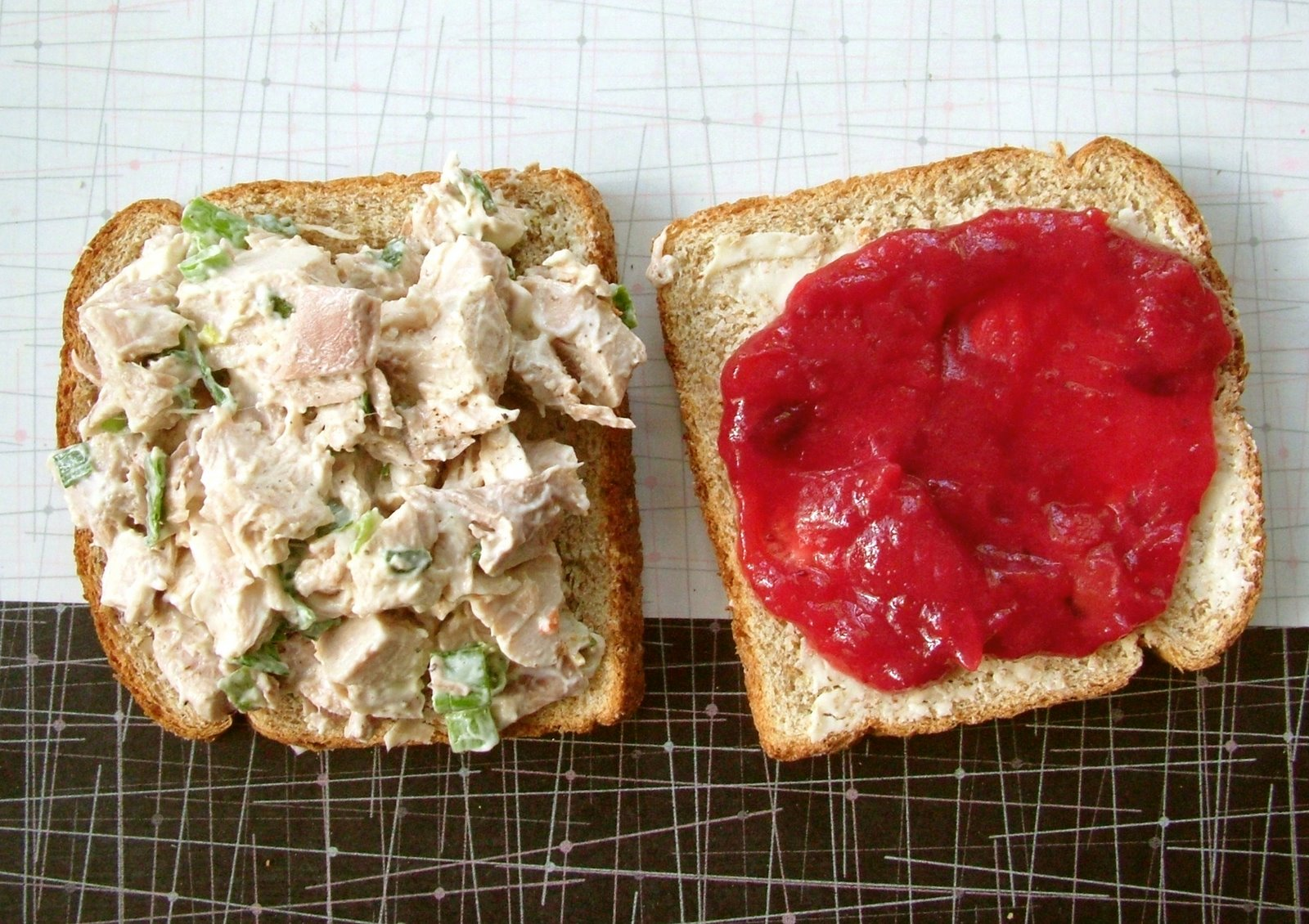 Turkey+Salad+Sandwich