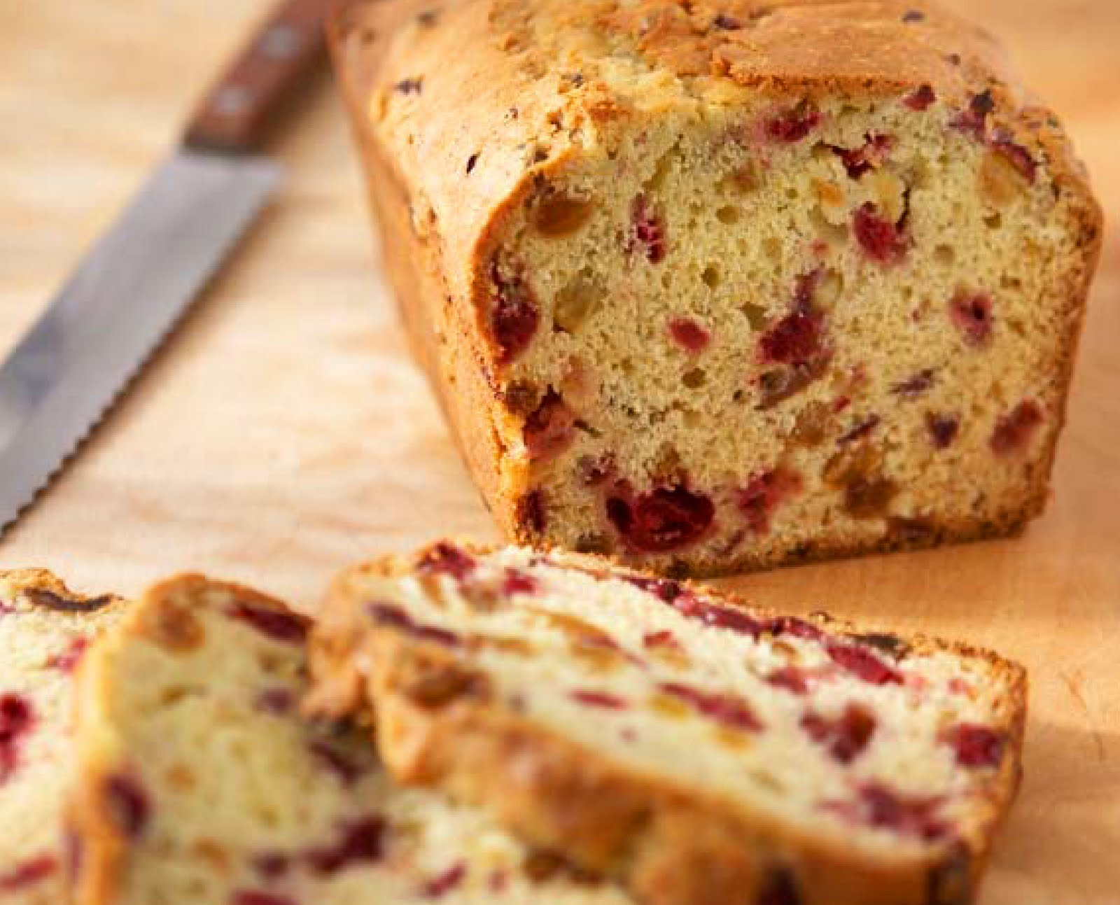 Cranberry-Orange Loaf - Dinner With Julie