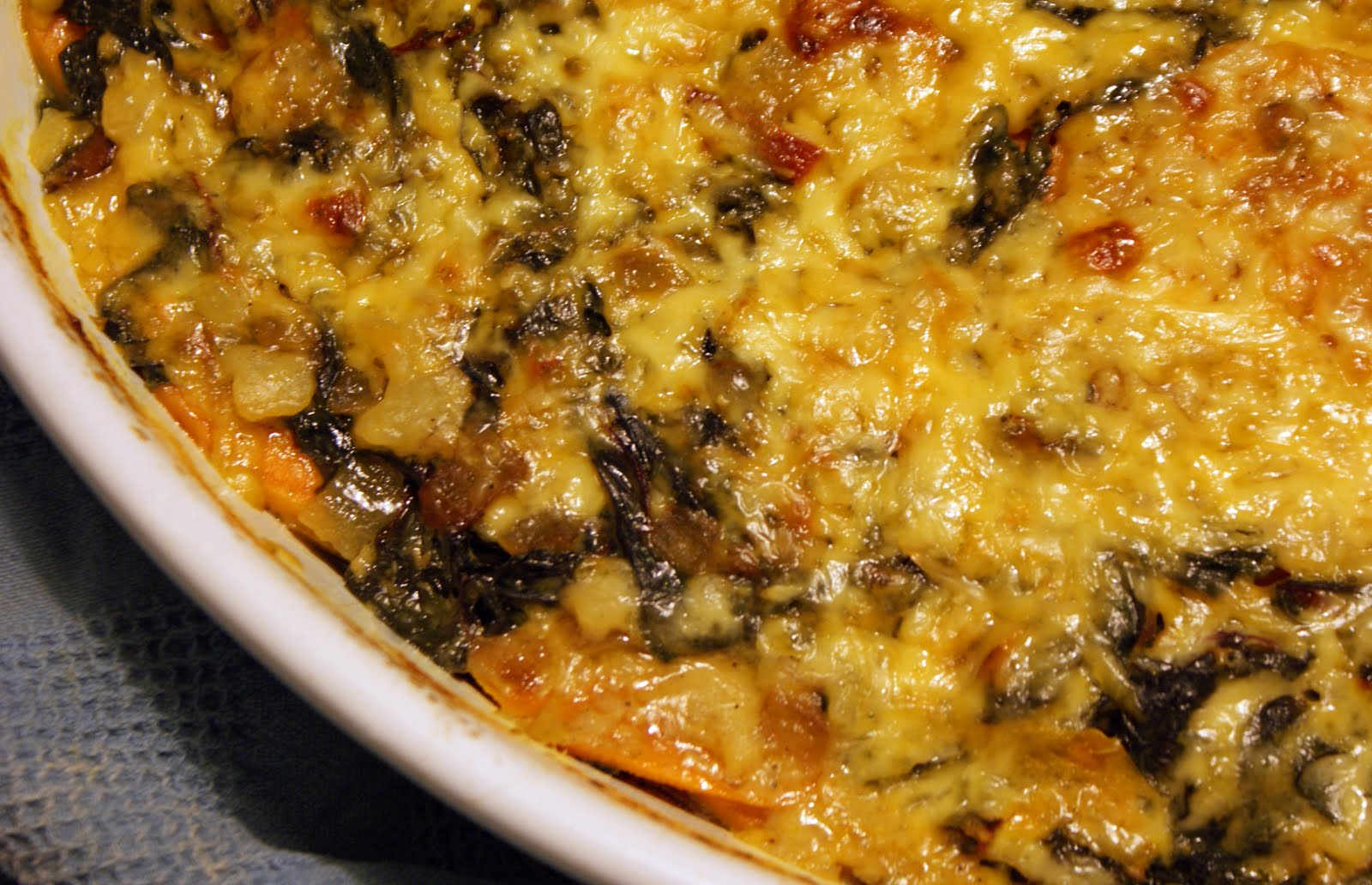 sweet potato gratin spiced sweet potato gratin sweet potato and turnip ...
