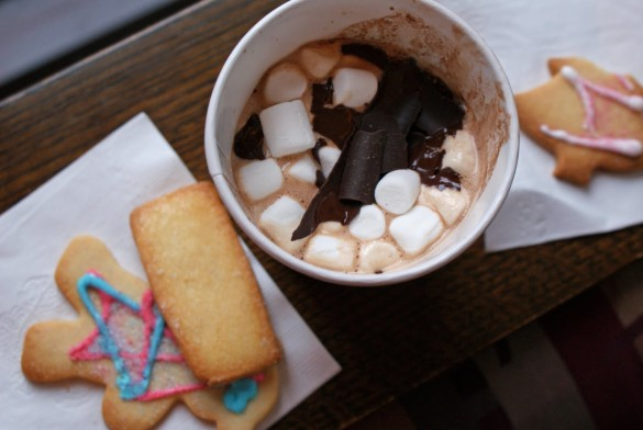 Mostly Hot Chocolate and Sugar Cookies - Dinner With Julie