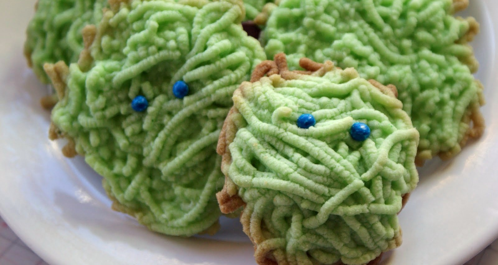 Shaggy Monster Cookies