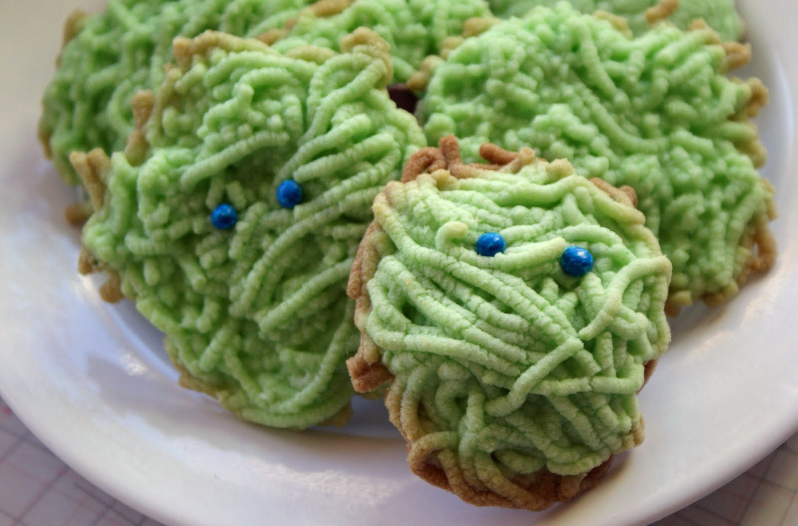 Shaggy Monster Cookies