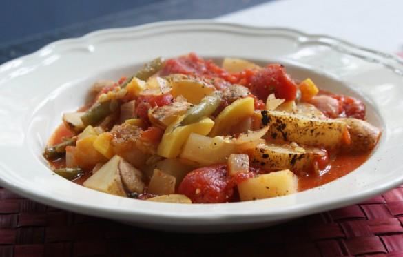 Potato,+bean+&+zucchini+stew