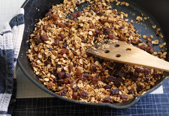 Quick+skillet+granola