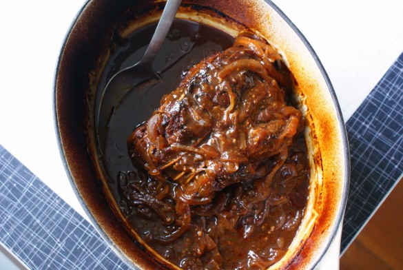 pulled beef dutch oven