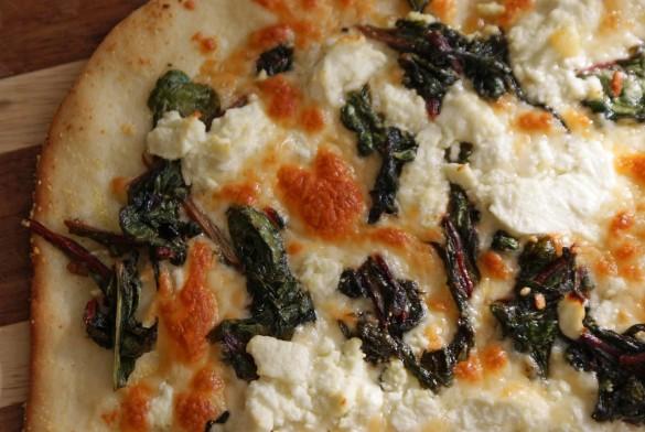 Chard+pizza