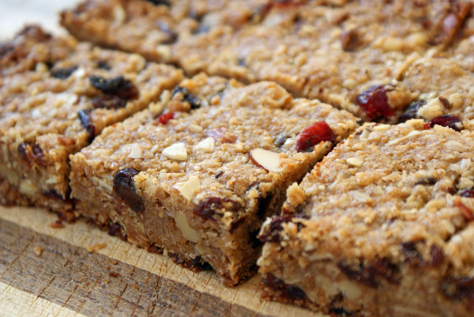 Chewy Granola Bars - Dinner With Julie