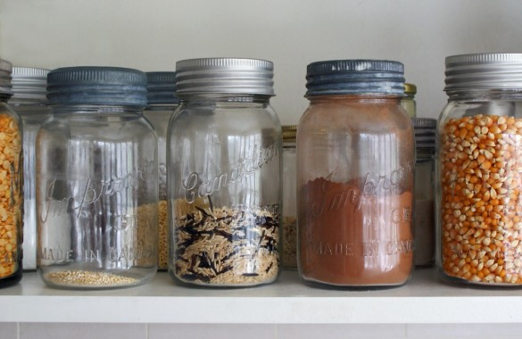 Jars+on+shelf
