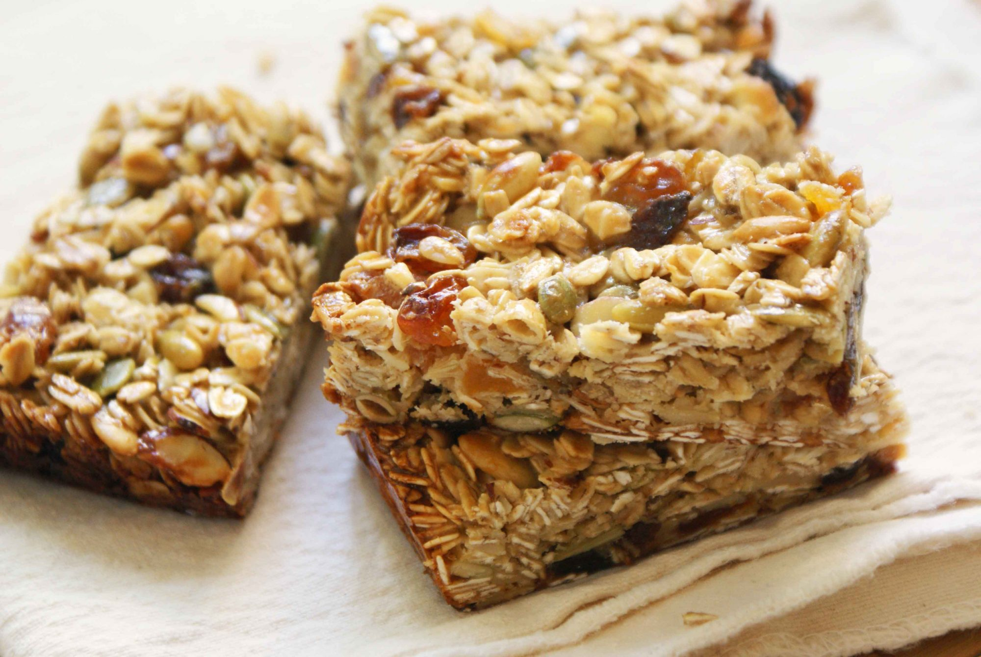 Highwood Crossing's Sweet and Salty Granola Bars - Dinner ...