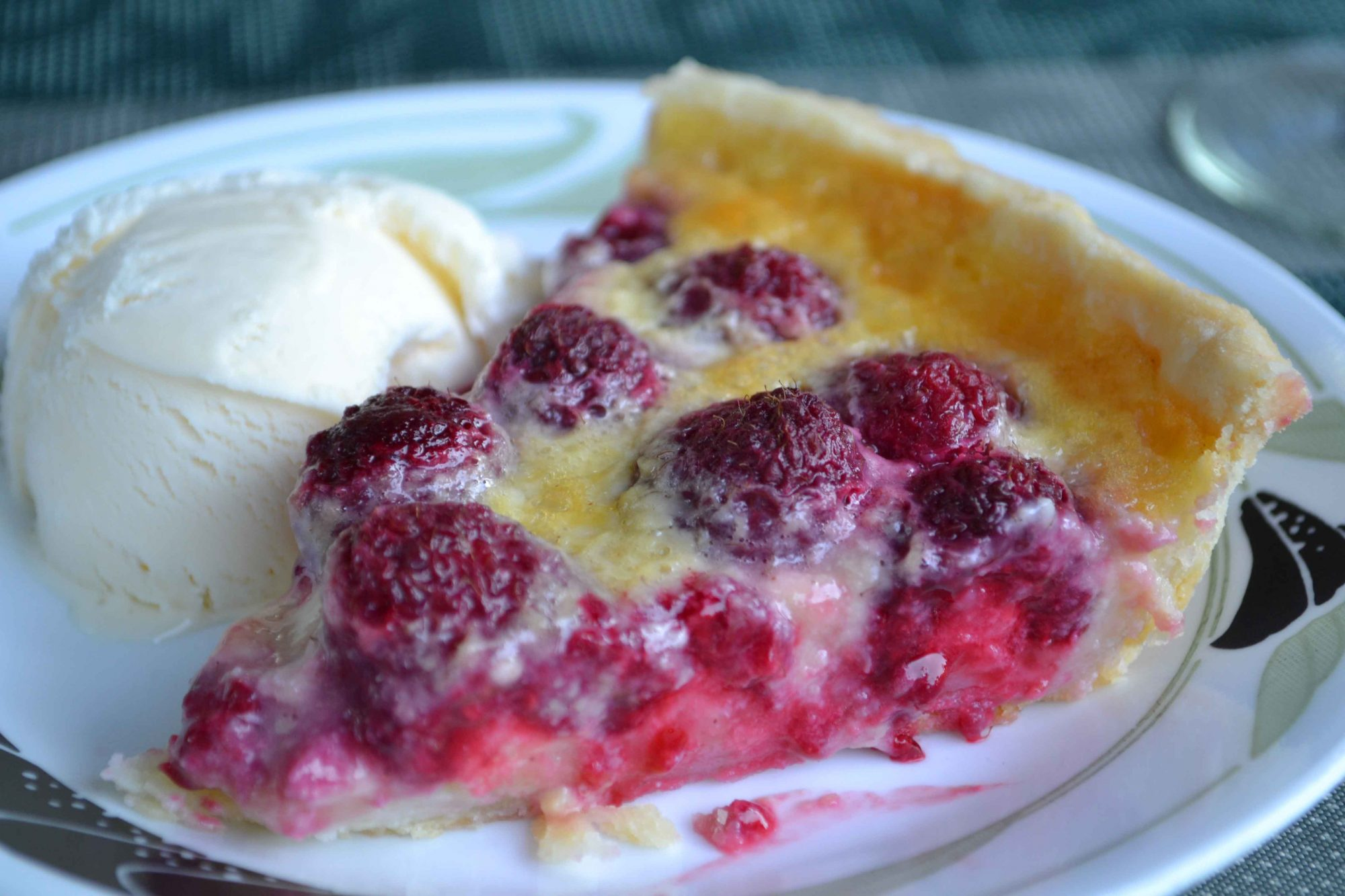 Birthday Dinner, with Raspberry Custard Pie - Dinner With Julie