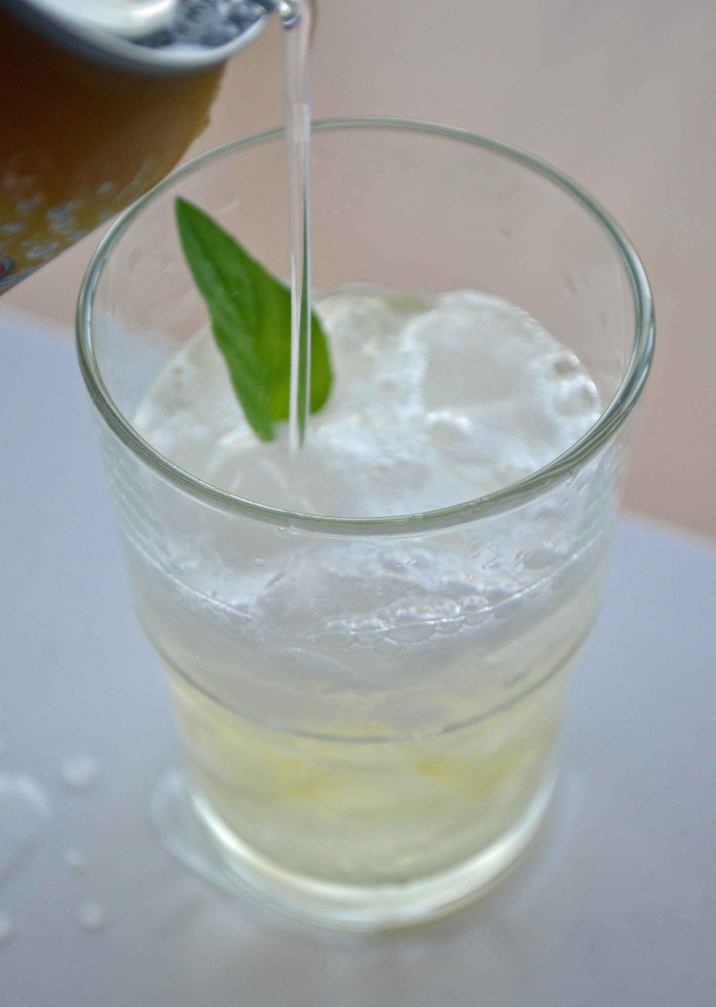 Green Tea Gin Tonics Key Lime Green Iced Tea Dinner
