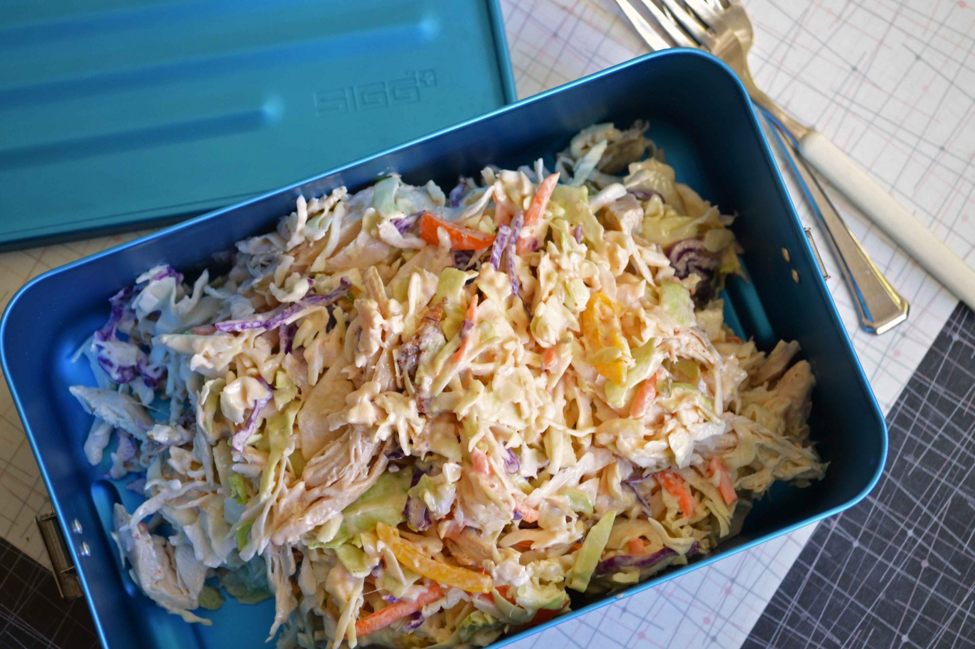 Thousand Island & Chicken slaw