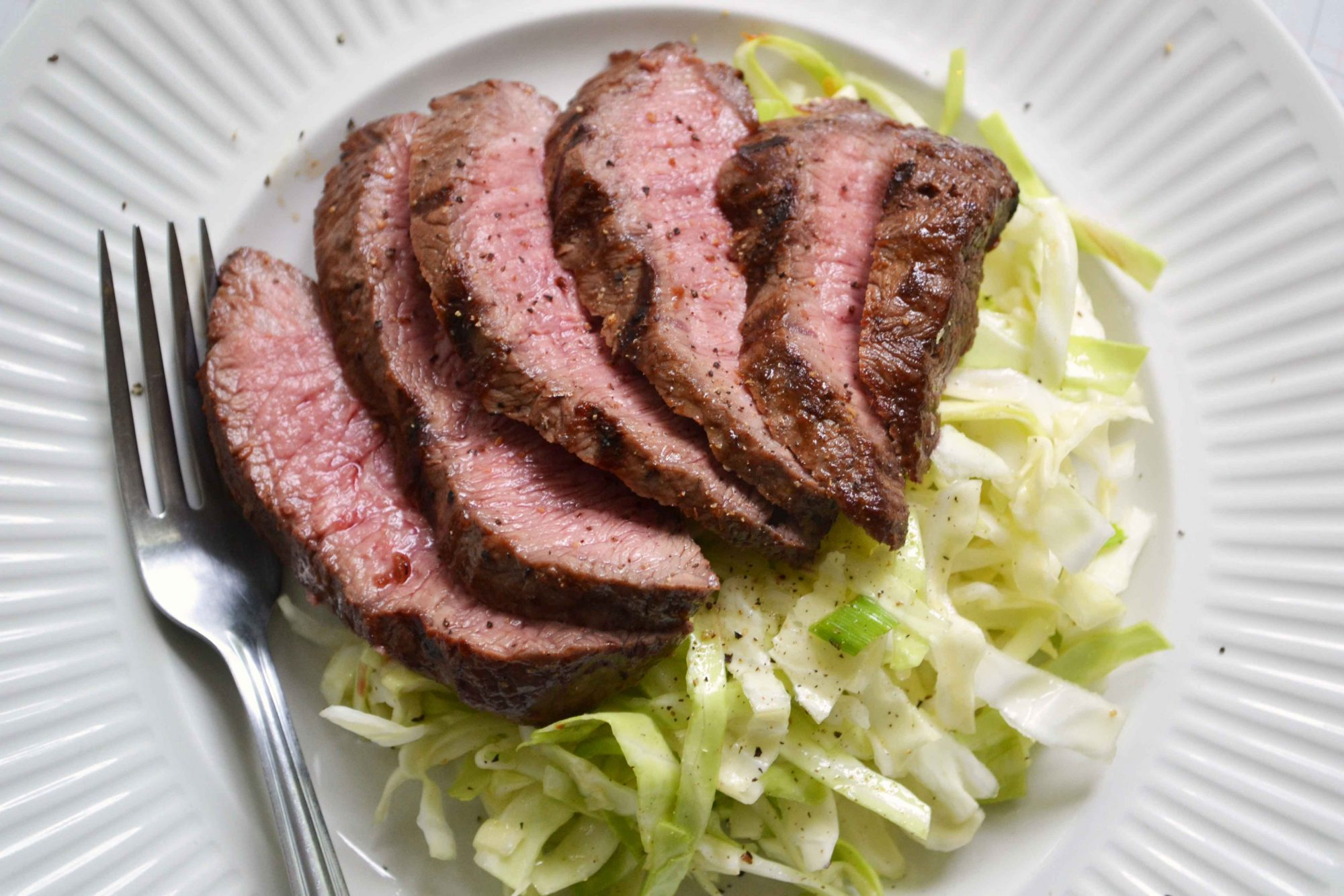 Asian Steak & Slaw