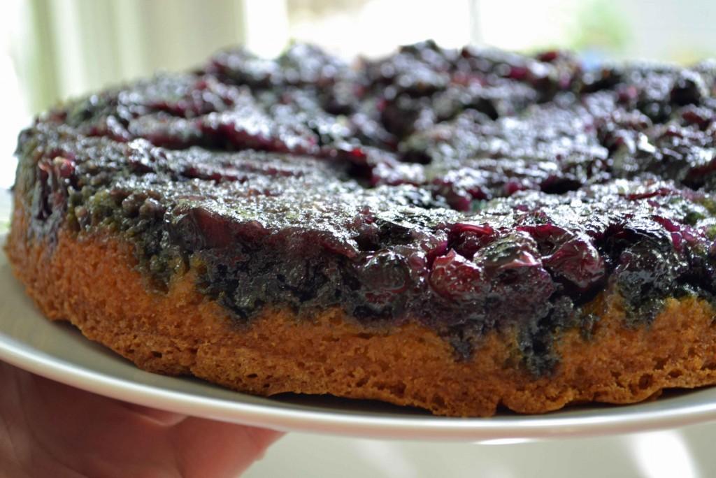cake maple blueberry upside down buttermilk cake standard september 18