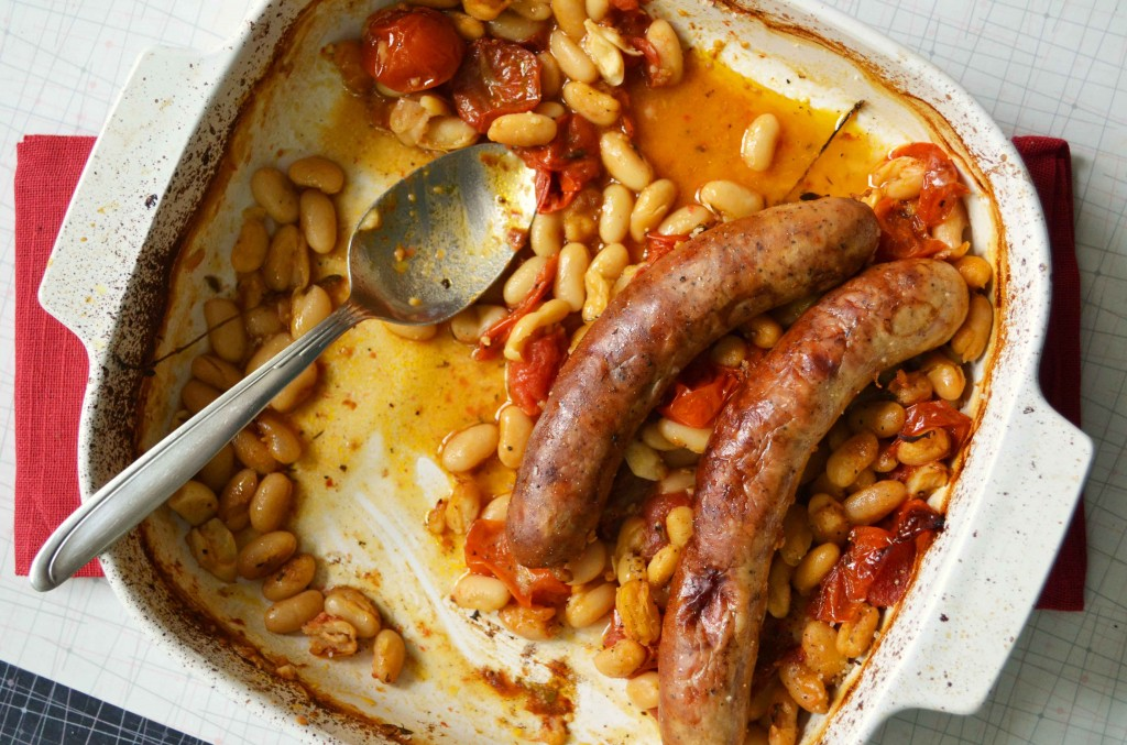 ... anderson s cassoulet style italian sausages and white beans from her