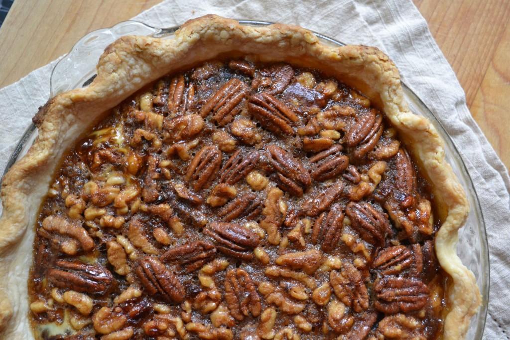 dessert pie maple walnut pecan pie standard november 7 2011