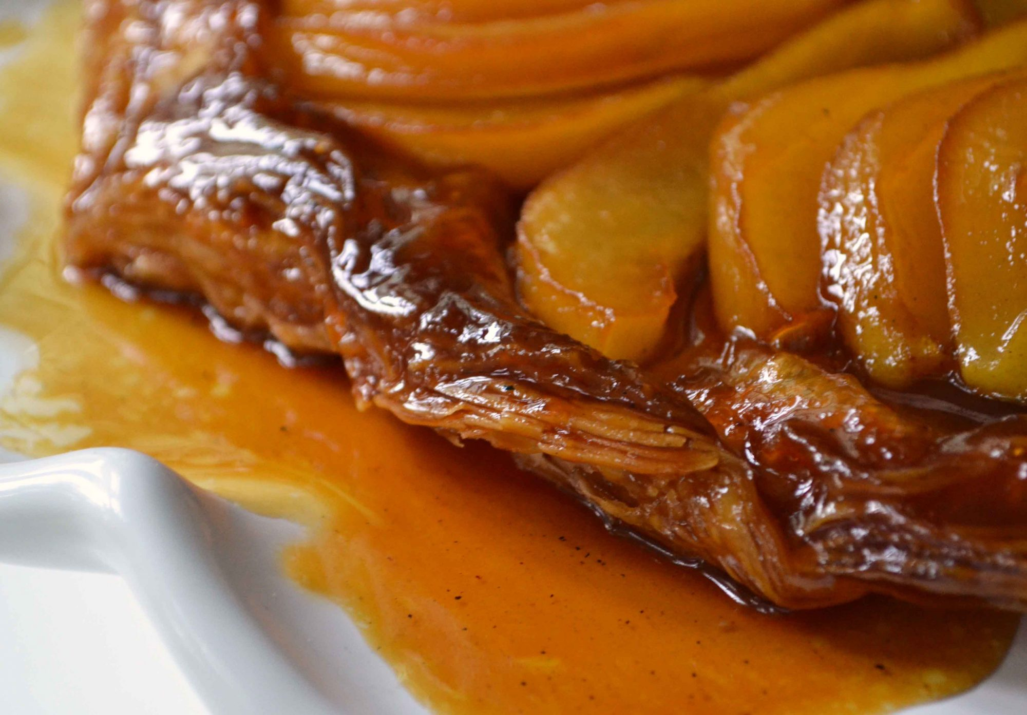 Apple And Pear Tarte Tatin Recipe — Dishmaps