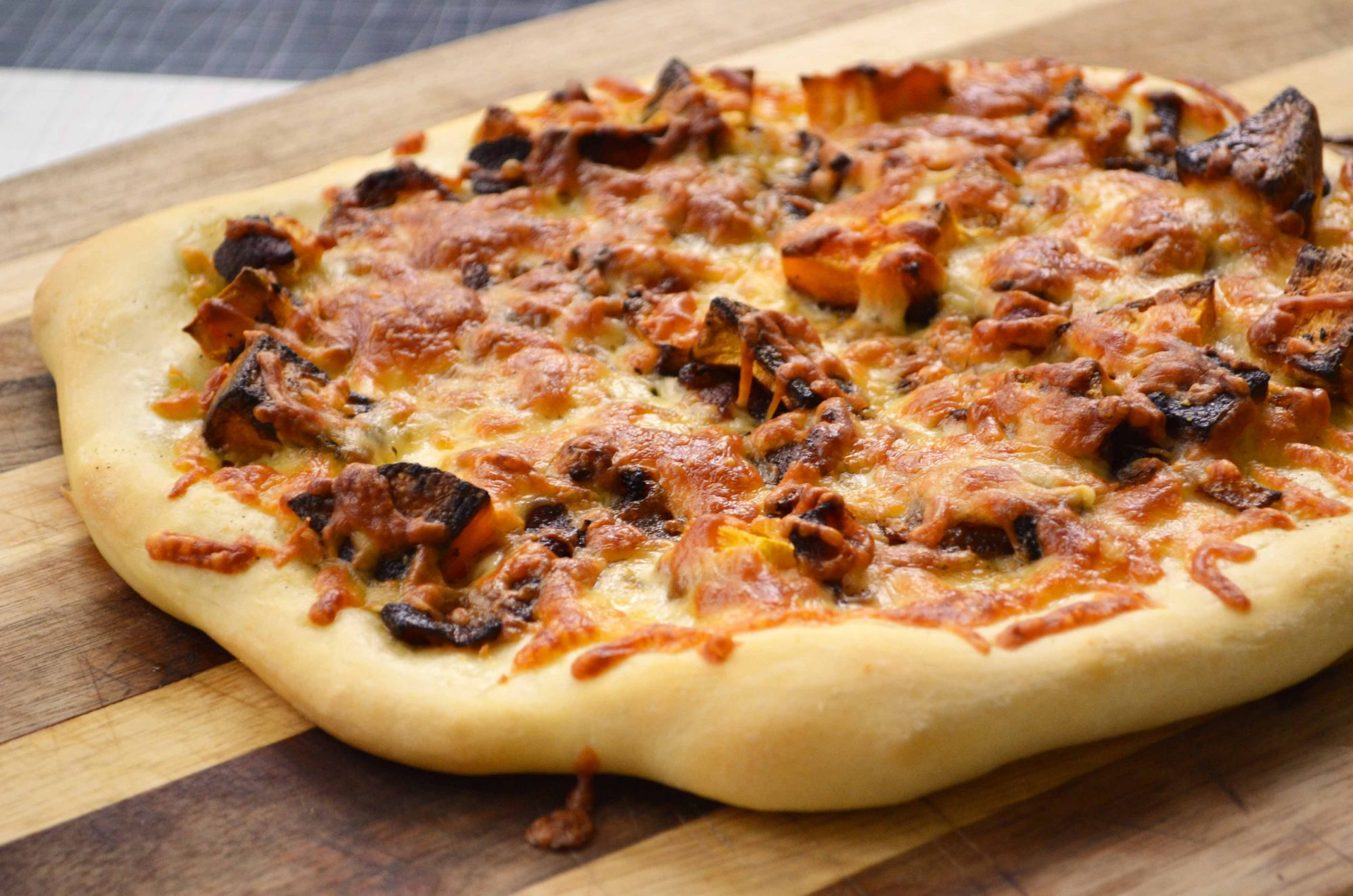 on a pizza with bacon and caramelized onions yes sold