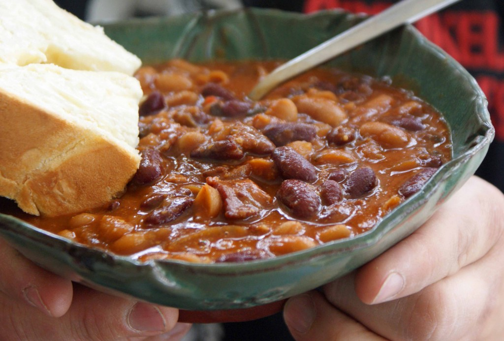Slow Cooker Guinness Baked Beans - Dinner With Julie