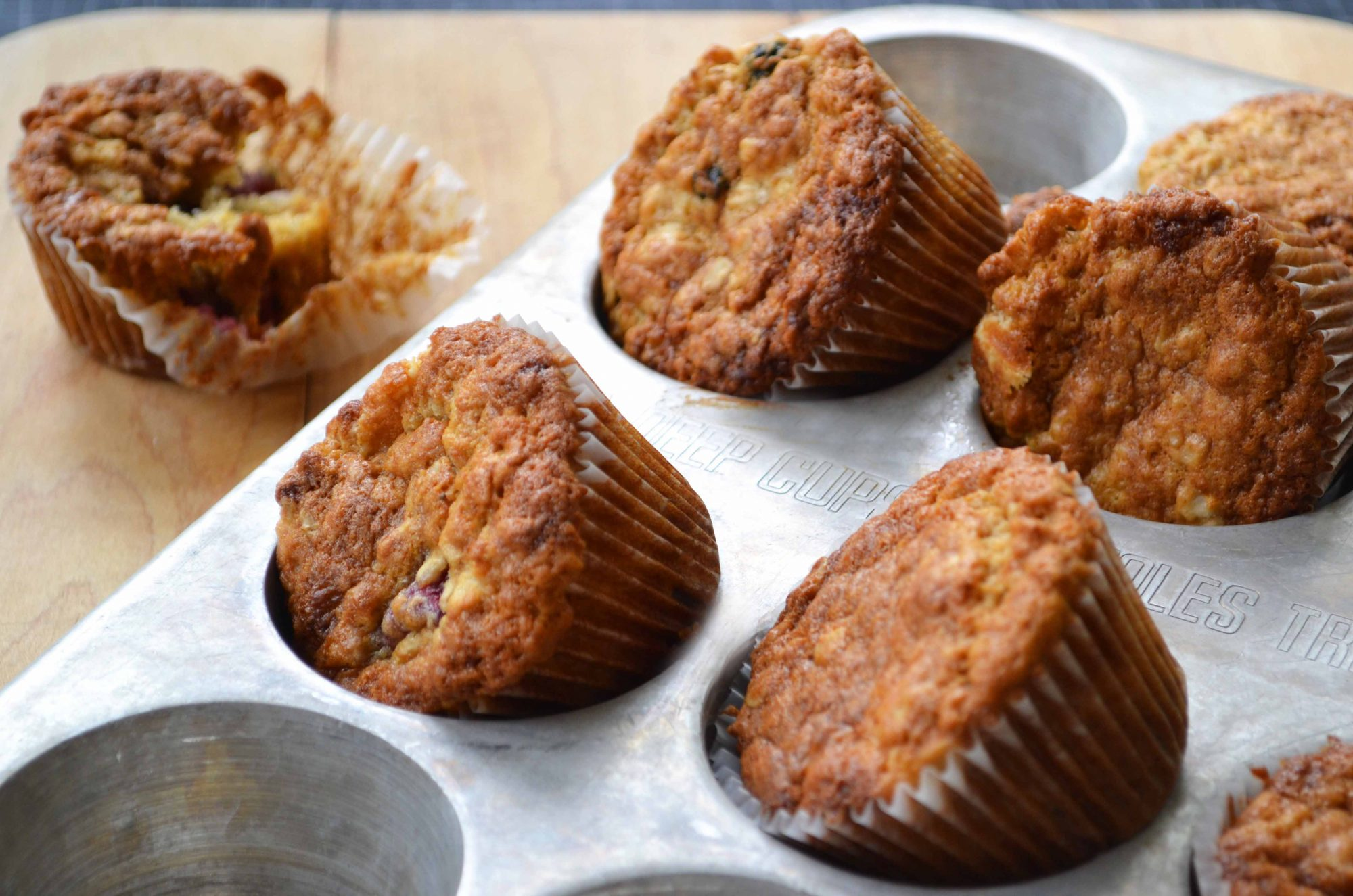 Oatmeal Muffins - Dinner With Julie