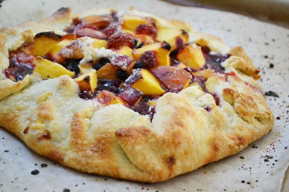 Peach galette 2