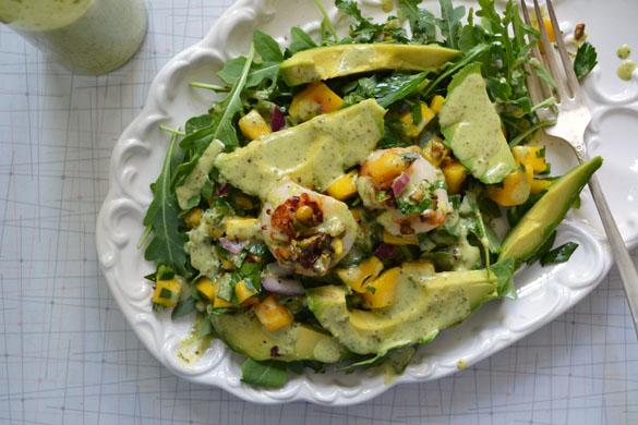 Stampede scallop salad 2