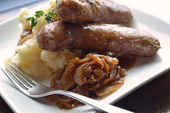 Bangers And Mash Recipe — Dishmaps