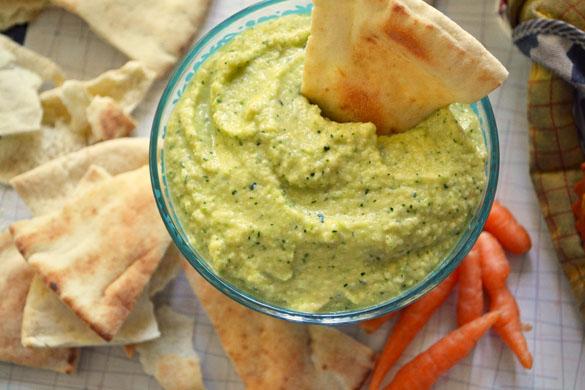 Zucchini hummus 2