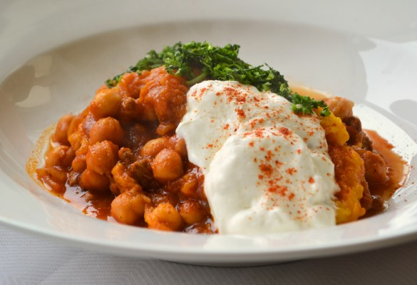 Pierre's chickpea stew 1