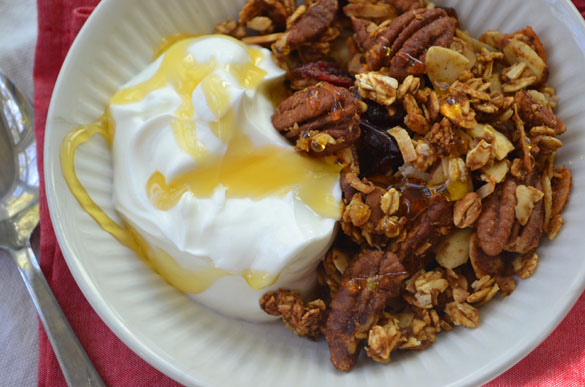 pumpkin pie granola 2