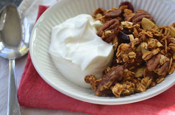 pumpkin pie granola 3