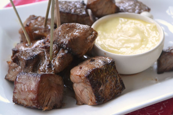 Steak bites 1