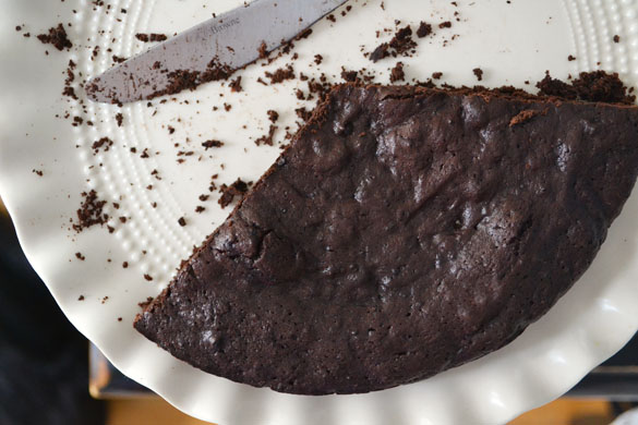 Flourless Chocolate Cake II Recipe — Dishmaps