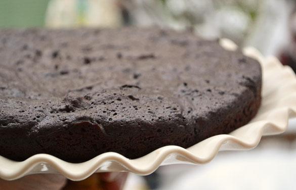 flourless chocolate cake 3