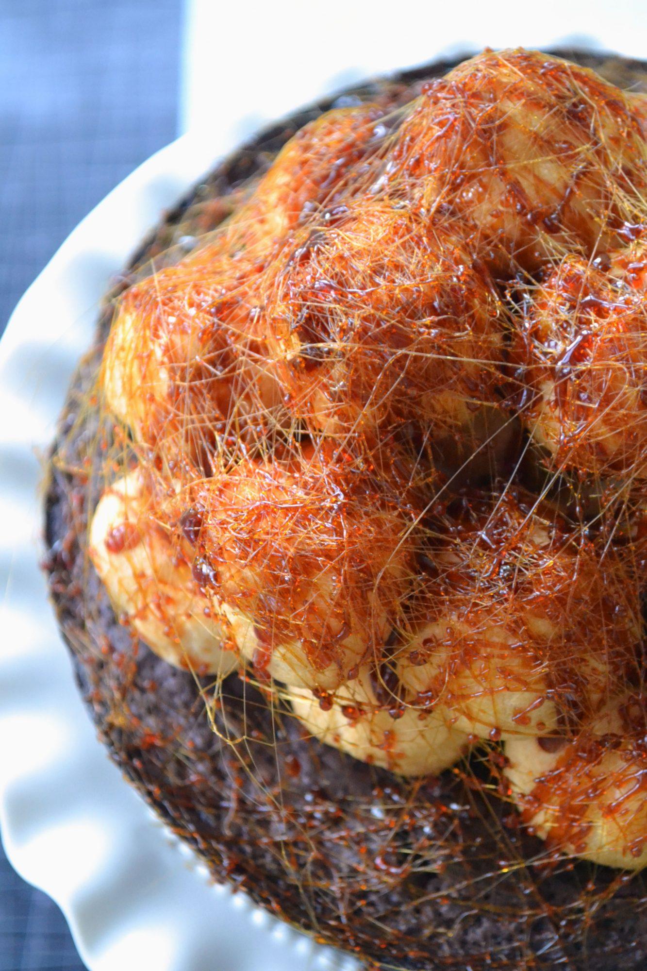 Croquembouche cake 2
