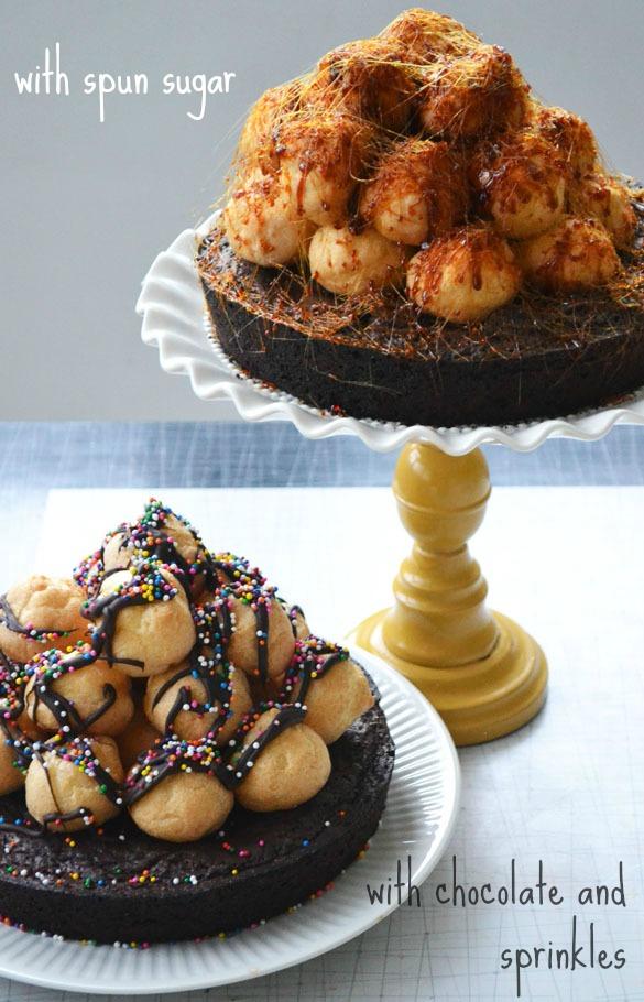 Croquembouche cake 5-small