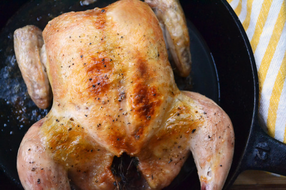 Minimalist roast chicken 1