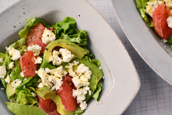 grapefruit salad 1