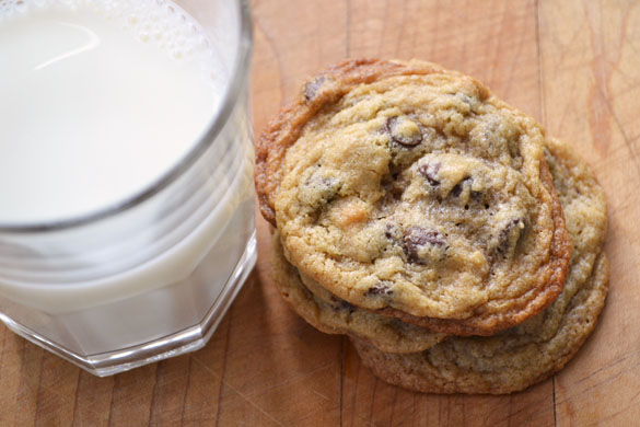Barley chocolate chip cookies 2
