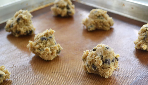 Barley cookie dough