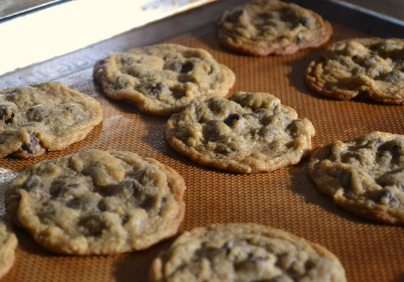 Barley cookies baked