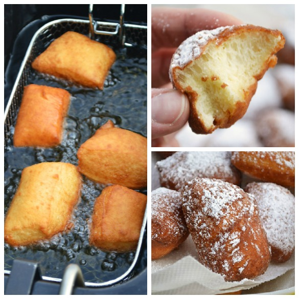 Beignets Collage