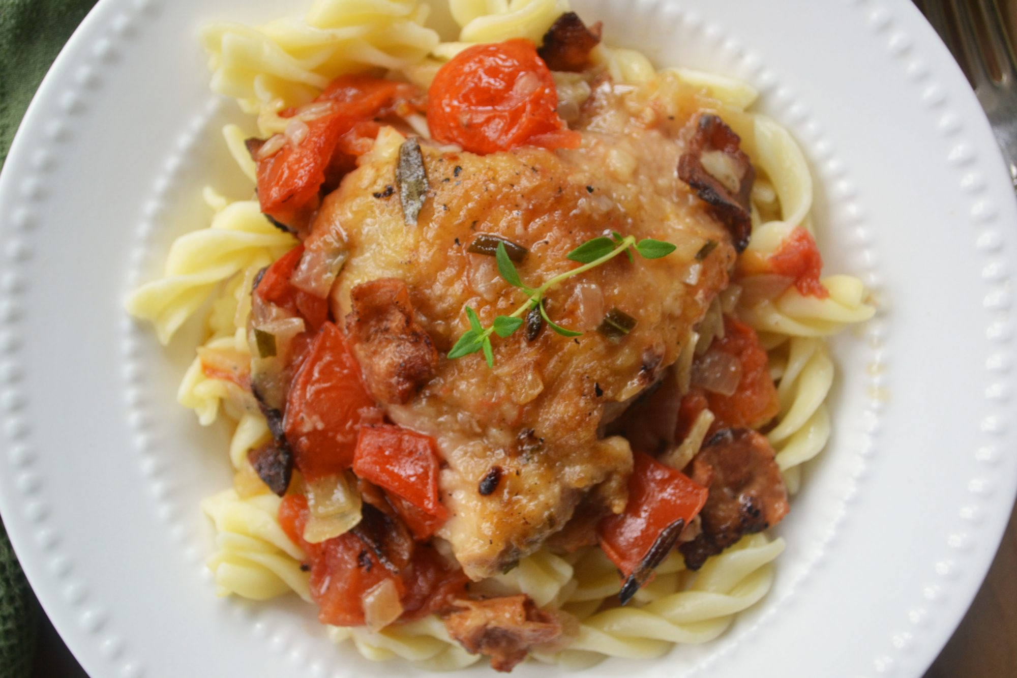Chicken Cacciatore Recipe — Dishmaps