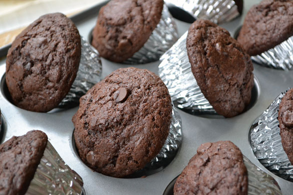 Chocolate muffins 3