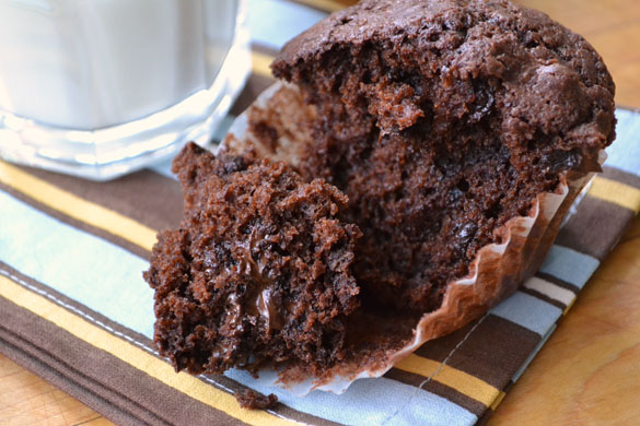 Chocolate muffins 4